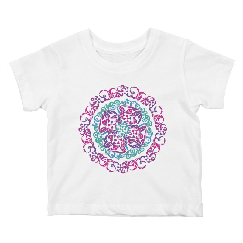 Detailed Kids Baby T-Shirt by tomcornish's Artist Shop