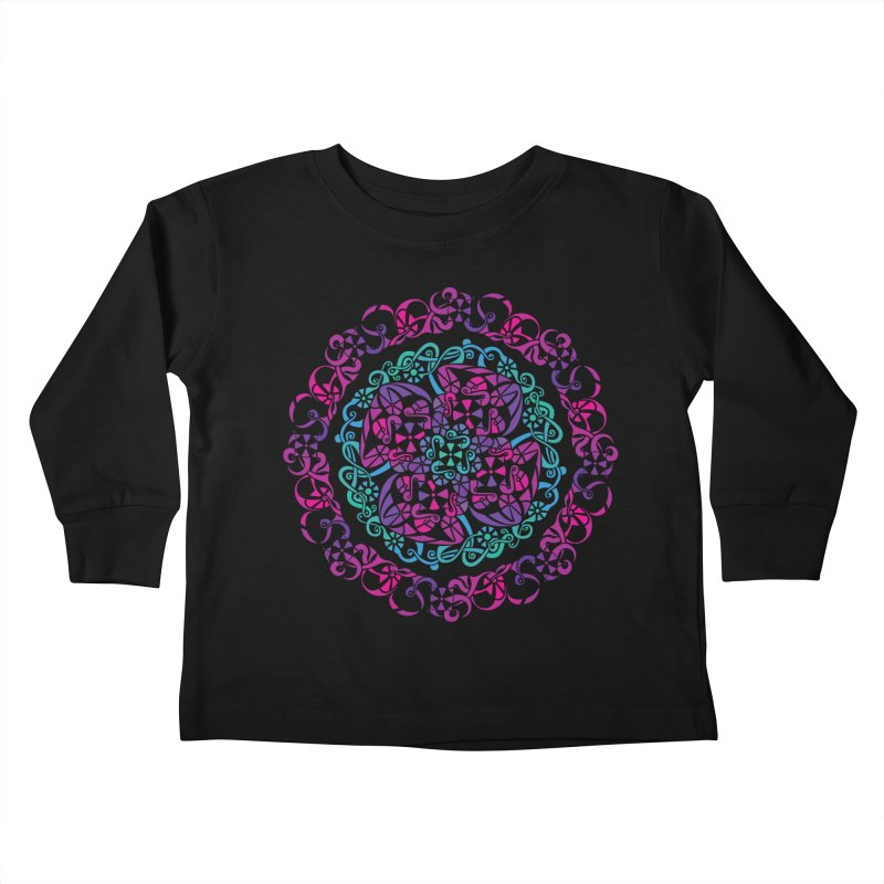 Detailed Kids Toddler Longsleeve T-Shirt by tomcornish's Artist Shop