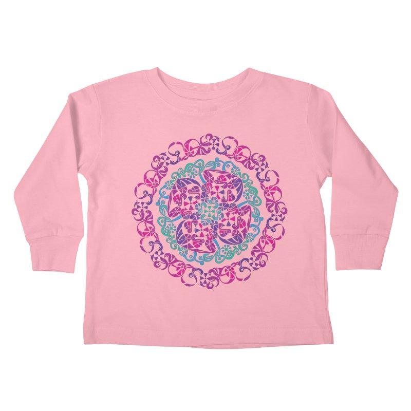 Detailed Kids Toddler Longsleeve T-Shirt by tomcornish's Artist Shop