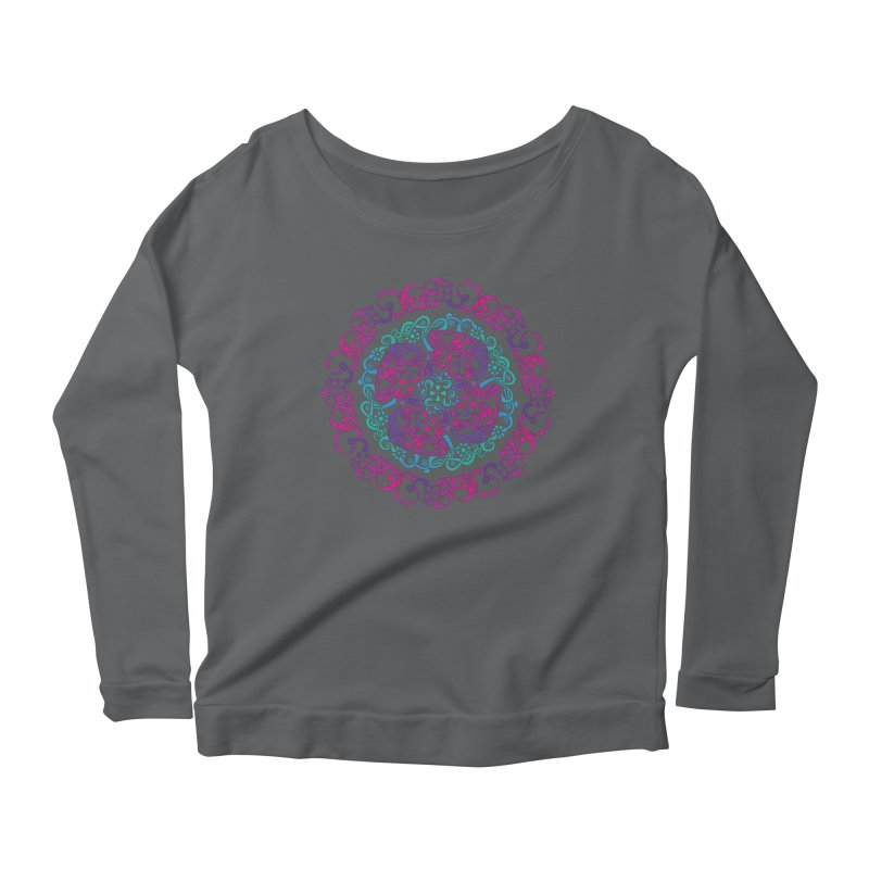 Detailed Women's Scoop Neck Longsleeve T-Shirt by tomcornish's Artist Shop