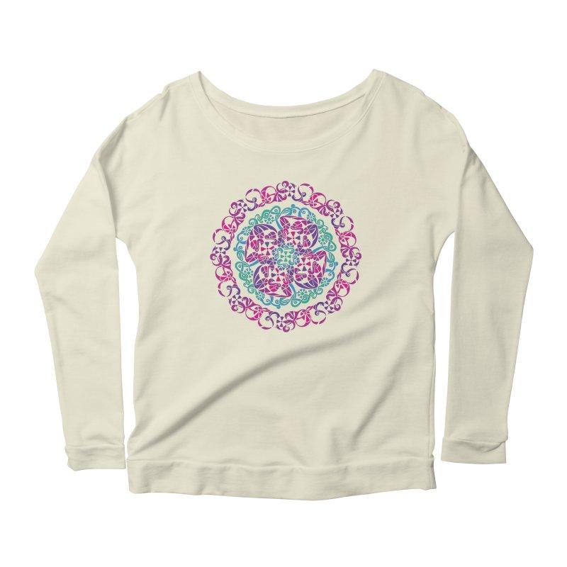 Detailed Women's Scoop Neck Longsleeve T-Shirt by tomcornish's Artist Shop