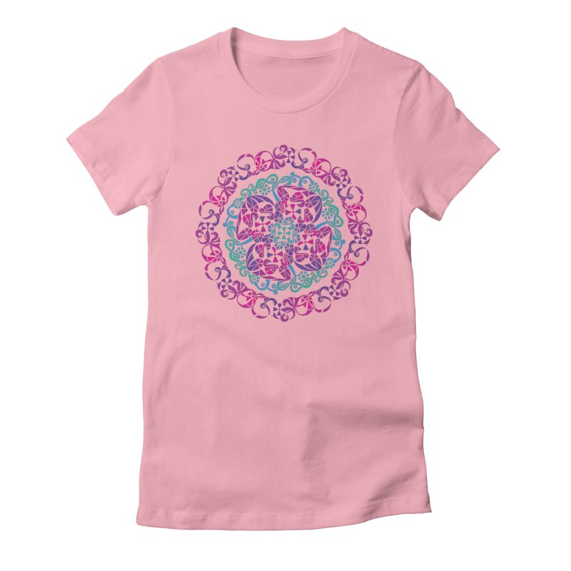Detailed Women's Fitted T-Shirt by tomcornish's Artist Shop