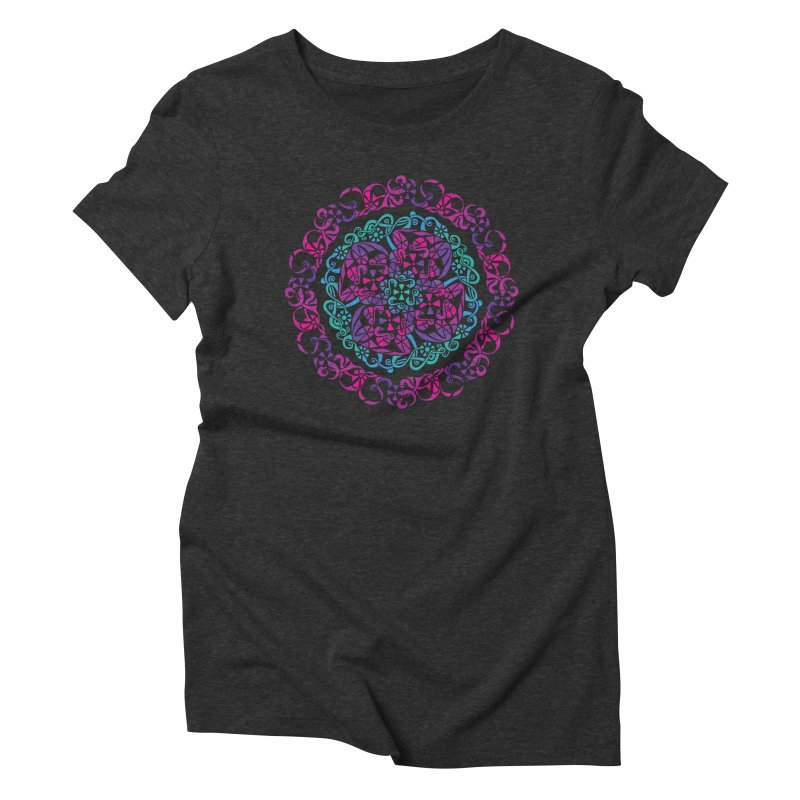 Detailed Women's Triblend T-Shirt by tomcornish's Artist Shop