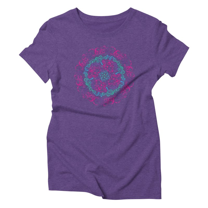 Detailed Women's Triblend T-Shirt by tomcornish's Artist Shop