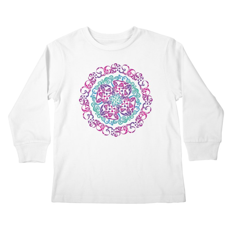 Detailed Kids Longsleeve T-Shirt by tomcornish's Artist Shop