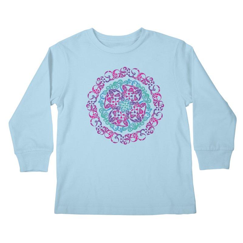 Detailed Kids Longsleeve T-Shirt by tomcornish's Artist Shop