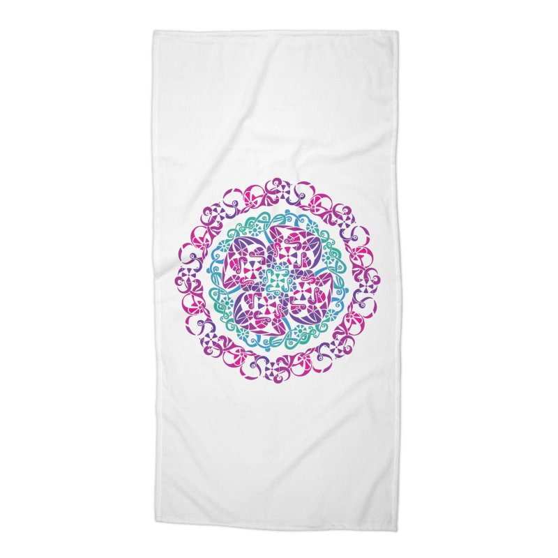 Detailed Accessories Beach Towel by tomcornish's Artist Shop