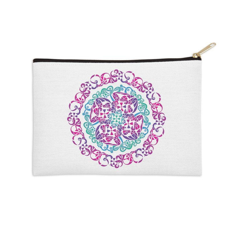 Detailed Accessories Zip Pouch by tomcornish's Artist Shop