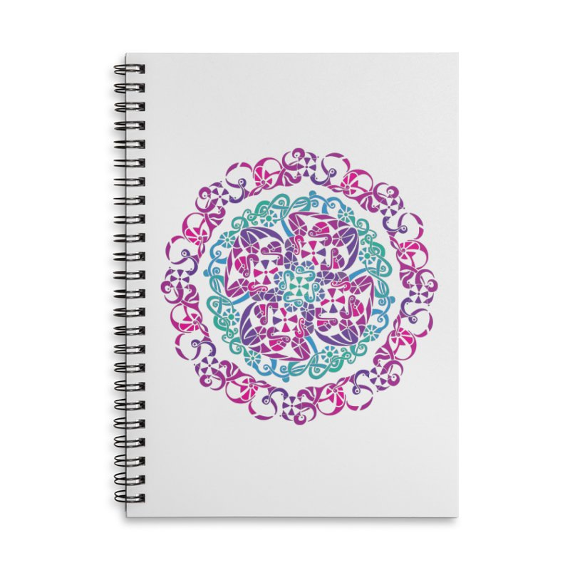 Detailed Accessories Lined Spiral Notebook by tomcornish's Artist Shop