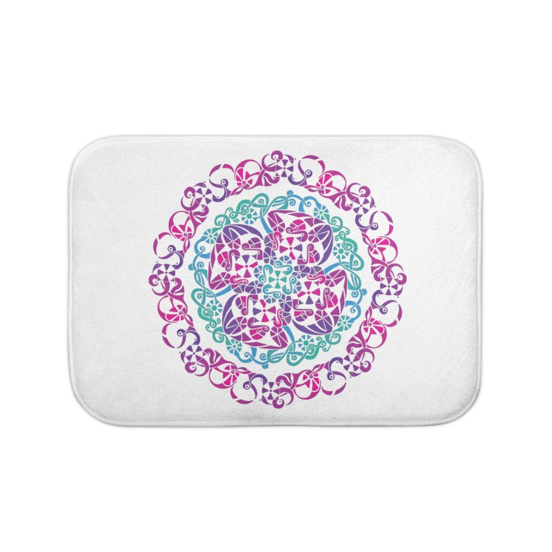 Detailed Home Bath Mat by tomcornish's Artist Shop
