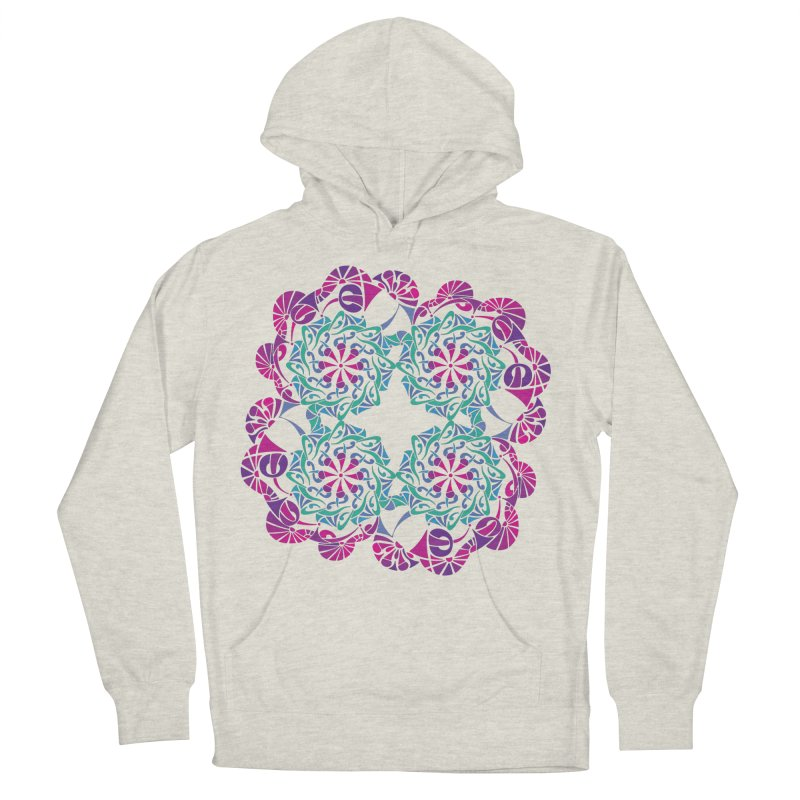 Shuffle Women's French Terry Pullover Hoody by tomcornish's Artist Shop