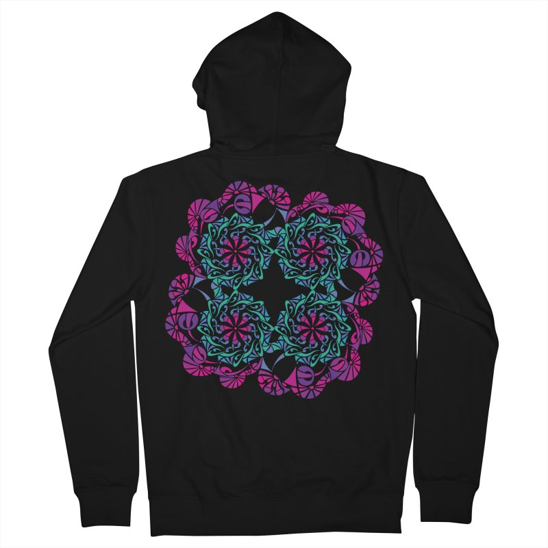 Shuffle Women's Zip-Up Hoody by tomcornish's Artist Shop