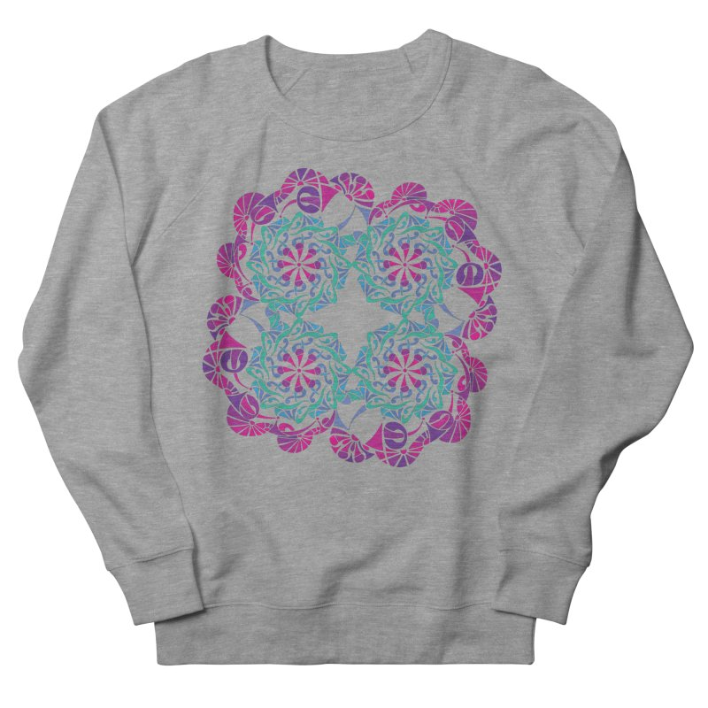 Shuffle Women's French Terry Sweatshirt by tomcornish's Artist Shop