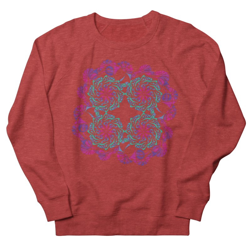 Shuffle Women's French Terry Sweatshirt by tomcornish's Artist Shop