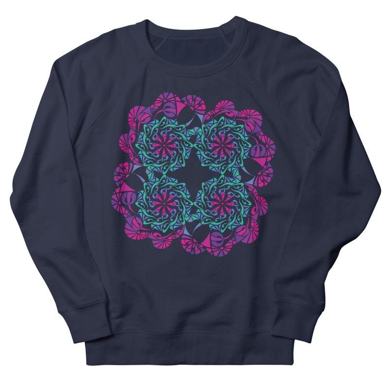 Shuffle Men's French Terry Sweatshirt by tomcornish's Artist Shop