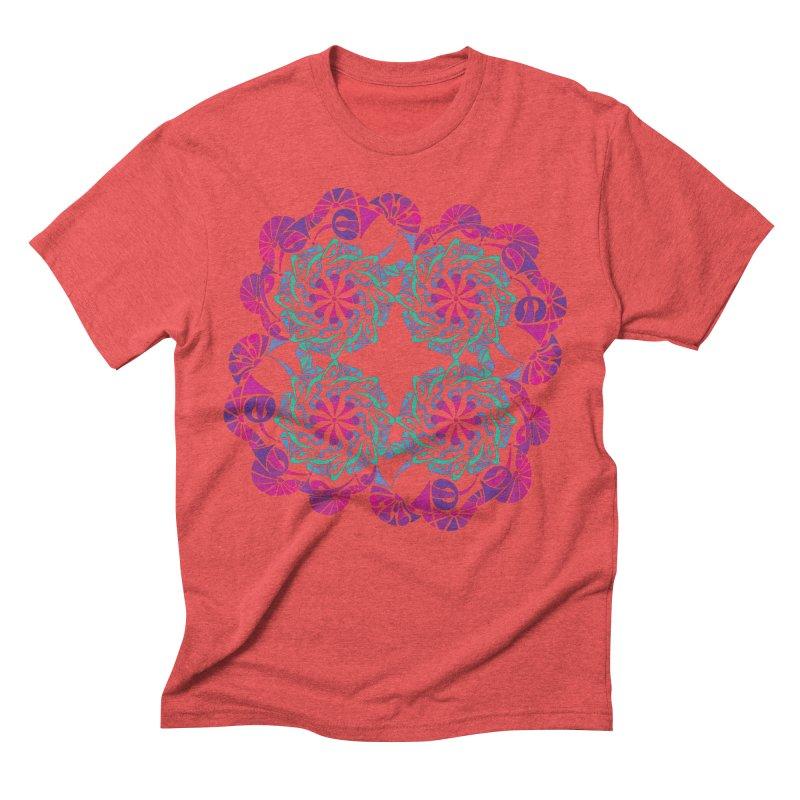 Shuffle Men's Triblend T-Shirt by tomcornish's Artist Shop