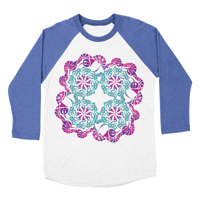 Shuffle Women's Baseball Triblend Longsleeve T-Shirt by tomcornish's Artist Shop