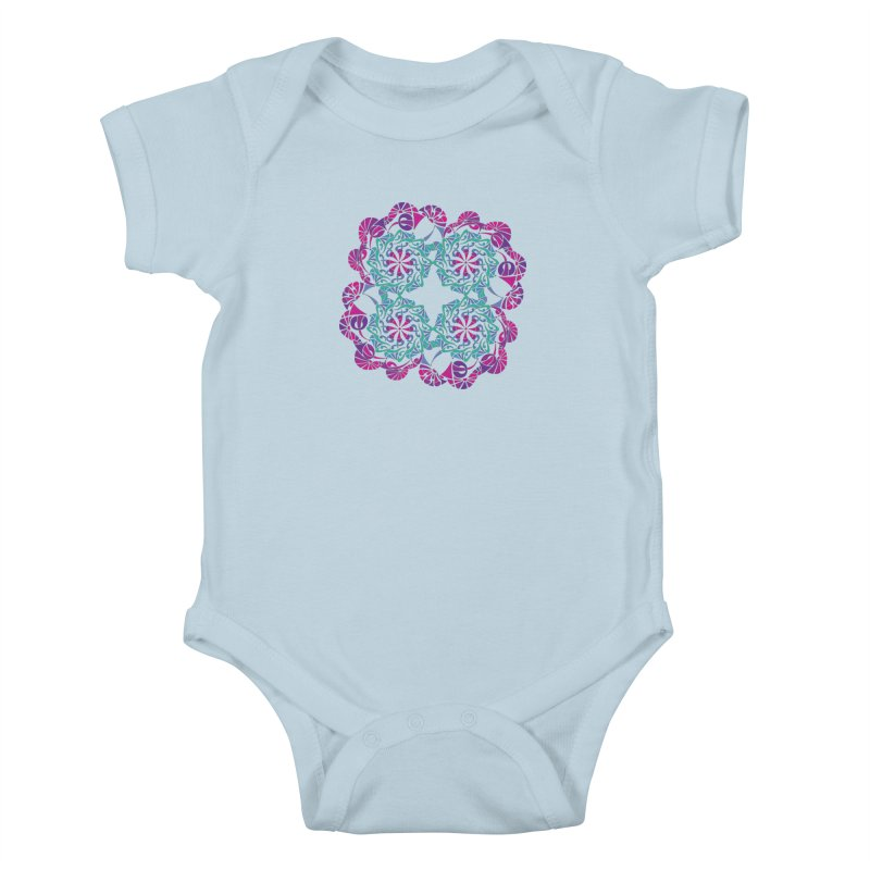 Shuffle Kids Baby Bodysuit by tomcornish's Artist Shop