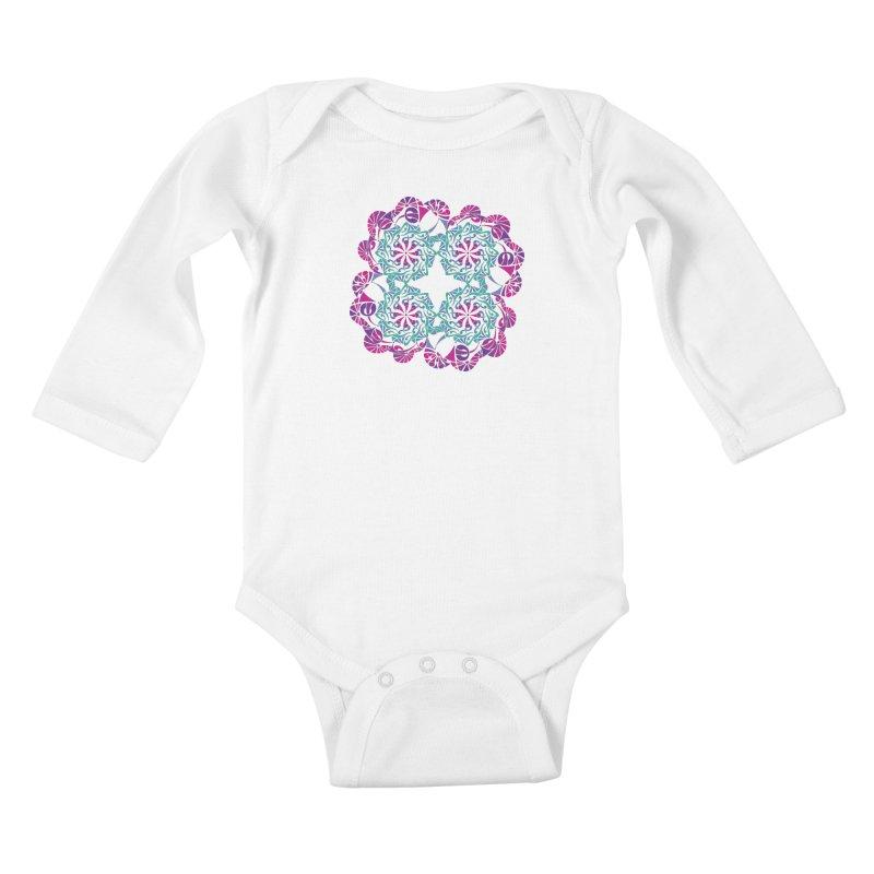 Shuffle Kids Baby Longsleeve Bodysuit by tomcornish's Artist Shop