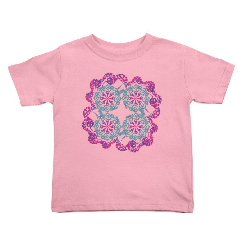 Shuffle Kids Toddler T-Shirt by tomcornish's Artist Shop