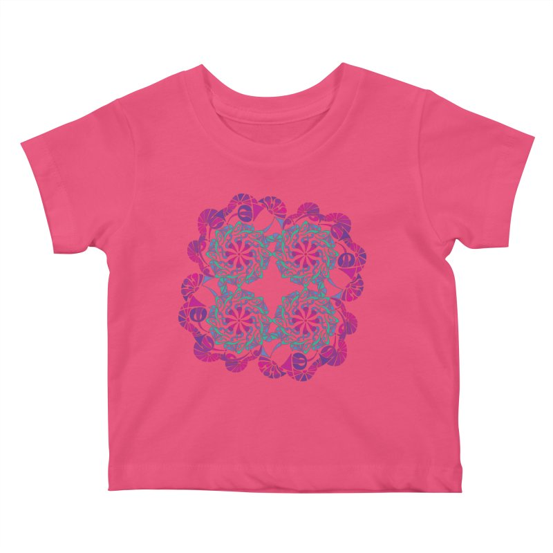 Shuffle Kids Baby T-Shirt by tomcornish's Artist Shop