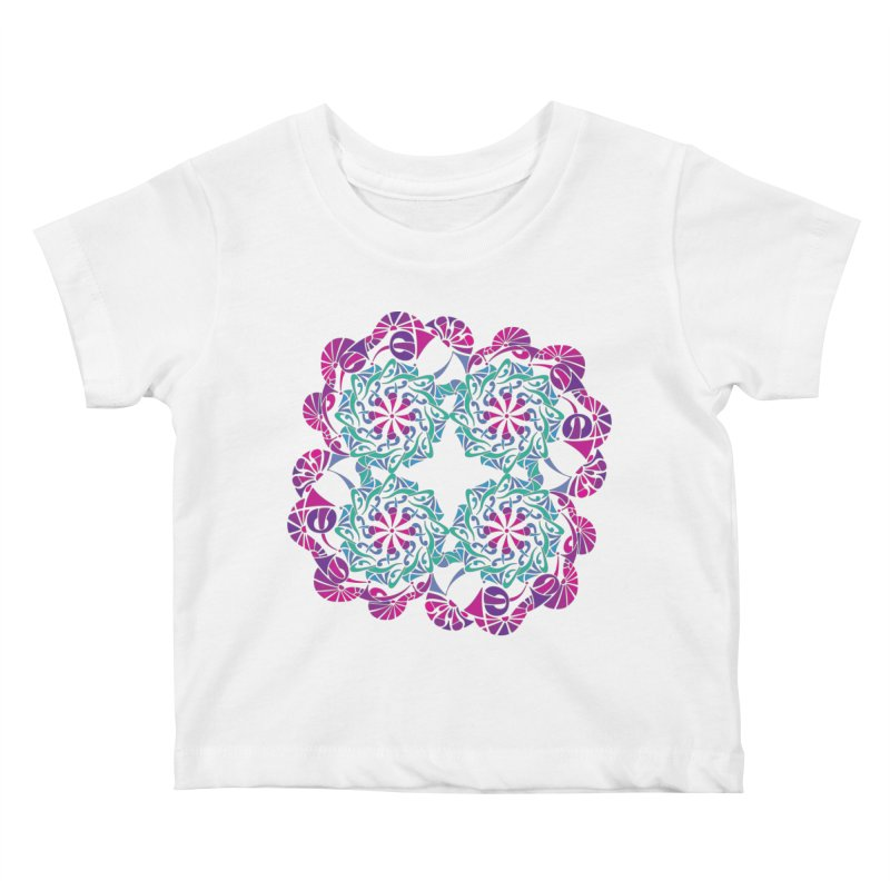 Shuffle Kids Baby T-Shirt by tomcornish's Artist Shop