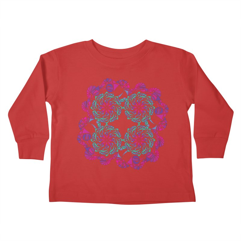 Shuffle Kids Toddler Longsleeve T-Shirt by tomcornish's Artist Shop