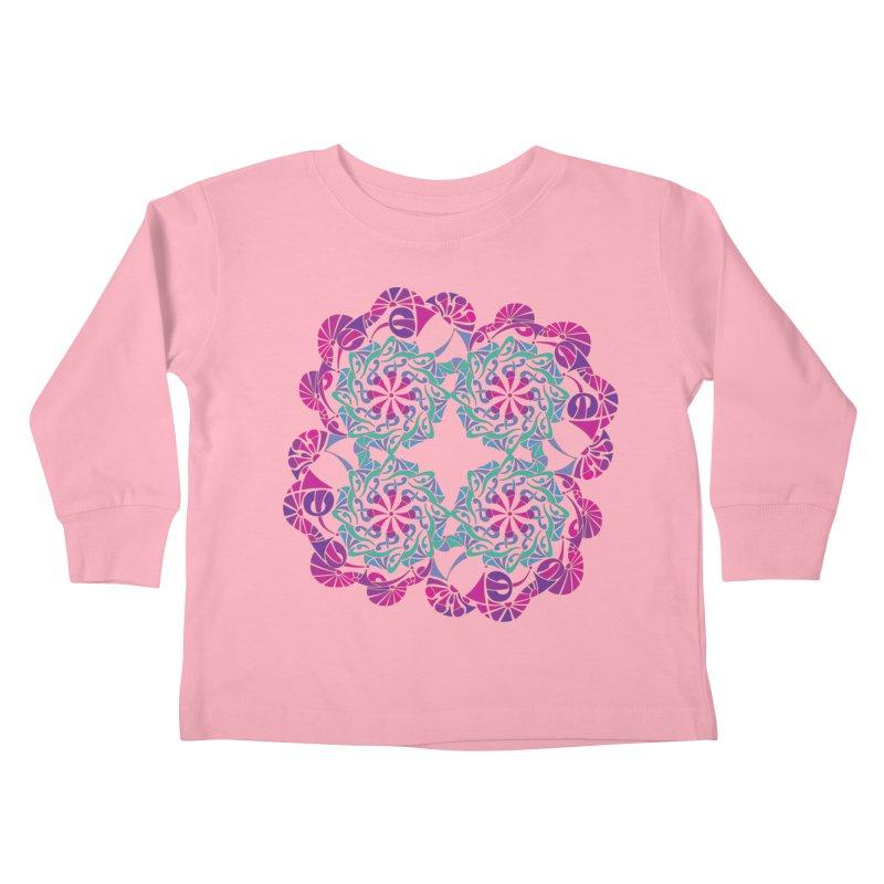 Shuffle Kids Toddler Longsleeve T-Shirt by tomcornish's Artist Shop