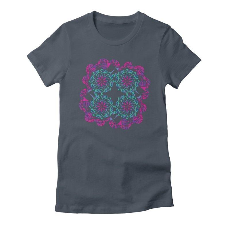 Shuffle Women's T-Shirt by tomcornish's Artist Shop