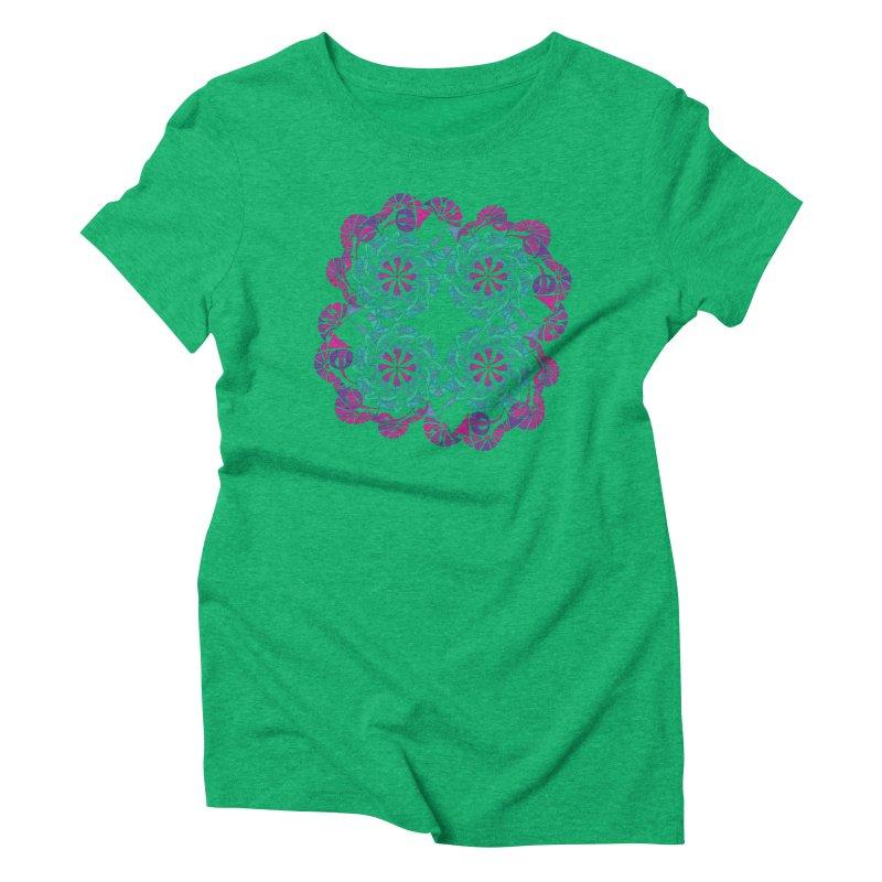 Shuffle Women's Triblend T-Shirt by tomcornish's Artist Shop