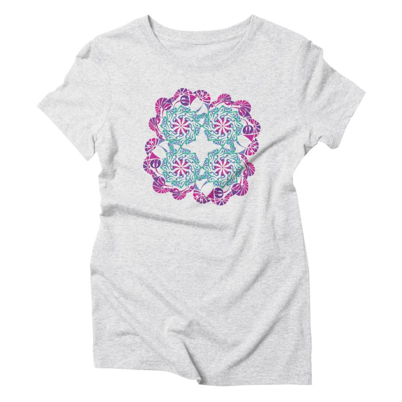 Shuffle Women's T-Shirt by tomcornish's Artist Shop