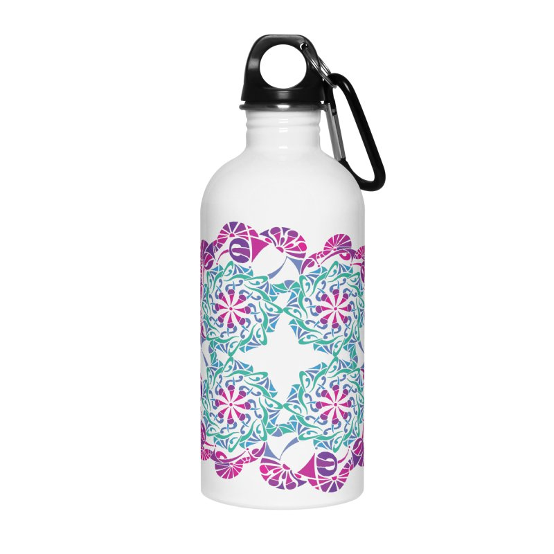 Shuffle Accessories Water Bottle by tomcornish's Artist Shop