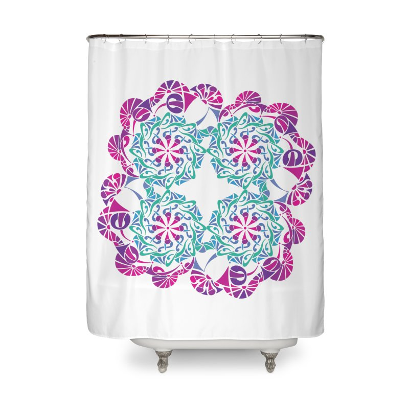 Shuffle Home Shower Curtain by tomcornish's Artist Shop