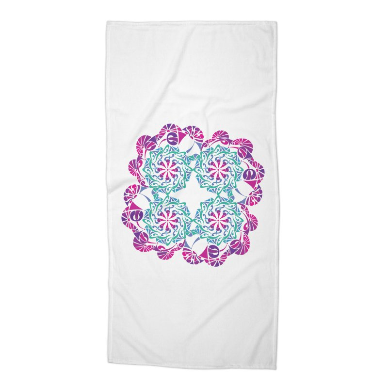 Shuffle Accessories Beach Towel by tomcornish's Artist Shop
