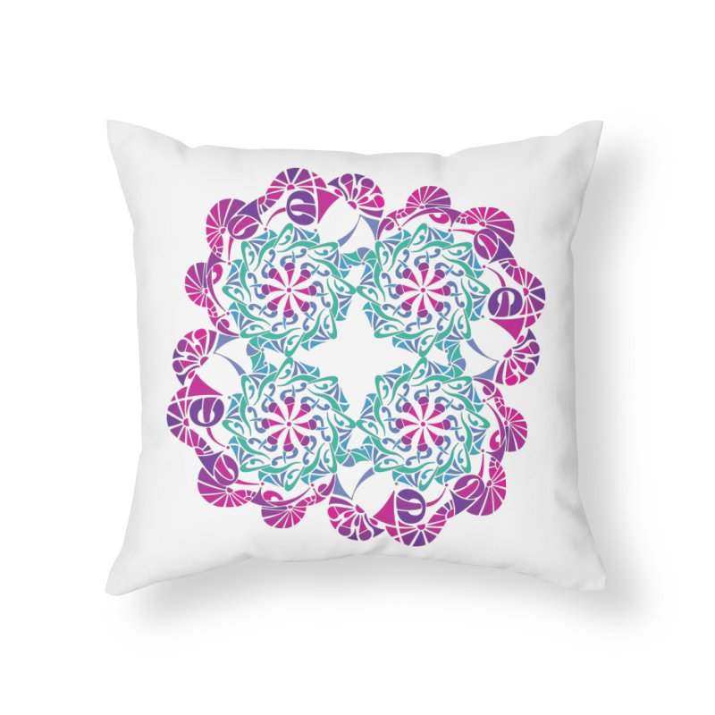 Shuffle Home Throw Pillow by tomcornish's Artist Shop