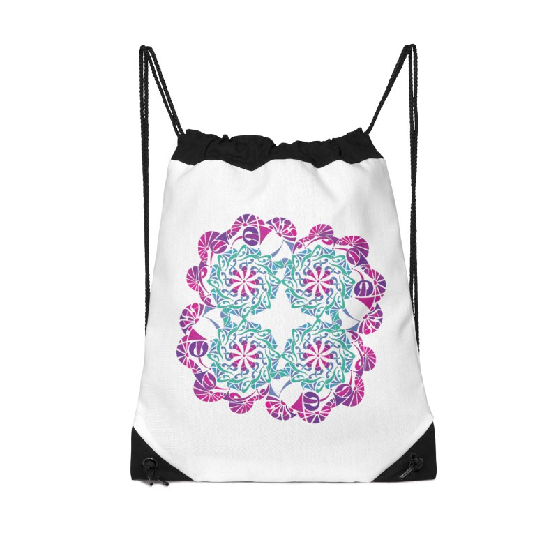 Shuffle Accessories Drawstring Bag Bag by tomcornish's Artist Shop