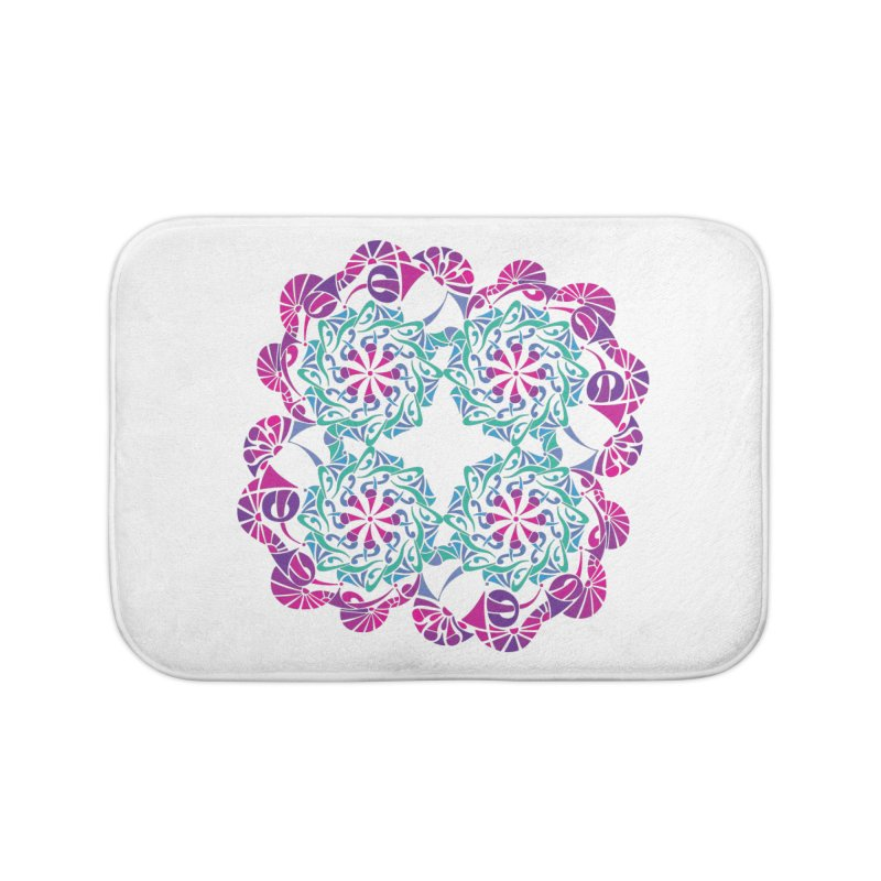 Shuffle Home Bath Mat by tomcornish's Artist Shop