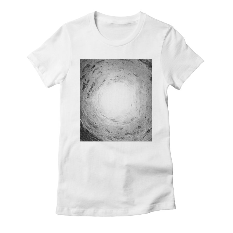 Catacombs Women's Fitted T-Shirt by Tommy Nease