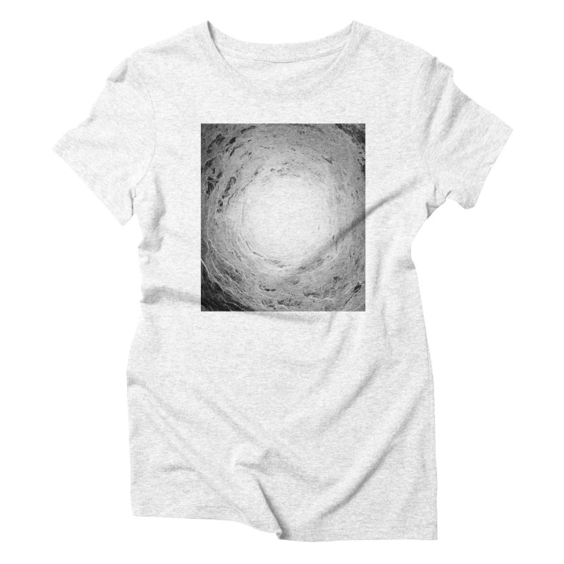 Catacombs Women's Triblend T-shirt by Tommy Nease