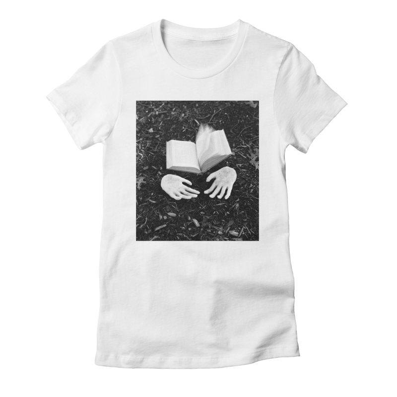 Foreboding  Women's Fitted T-Shirt by Tommy Nease