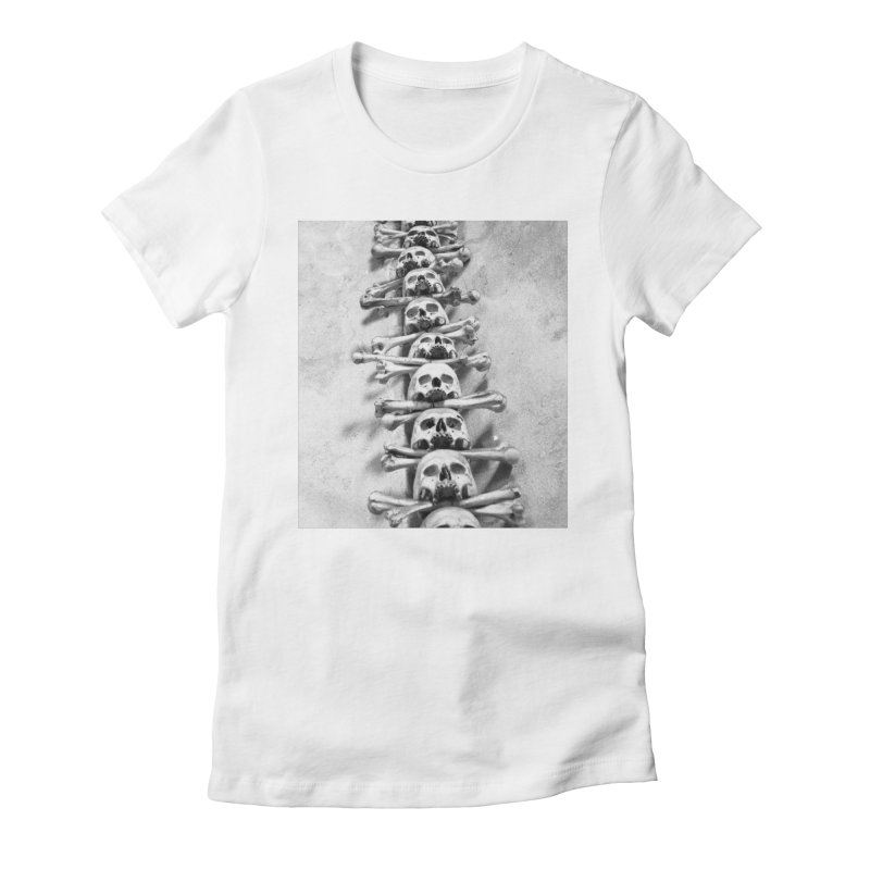 Sedlec Women's Fitted T-Shirt by Tommy Nease