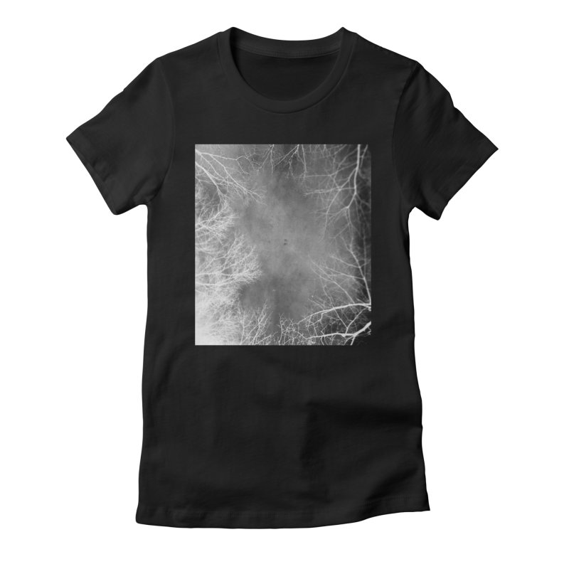 Inhale Women's Fitted T-Shirt by Tommy Nease
