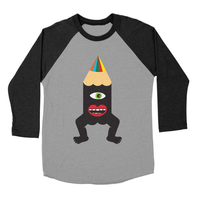 You know me. Men's Baseball Triblend T-Shirt by tomo77's Artist Shop