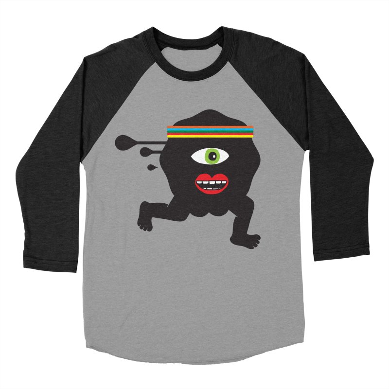 Run for your life. Men's Baseball Triblend T-Shirt by tomo77's Artist Shop