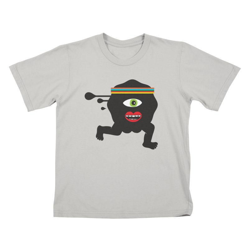 Run for your life. Kids T-shirt by tomo77's Artist Shop