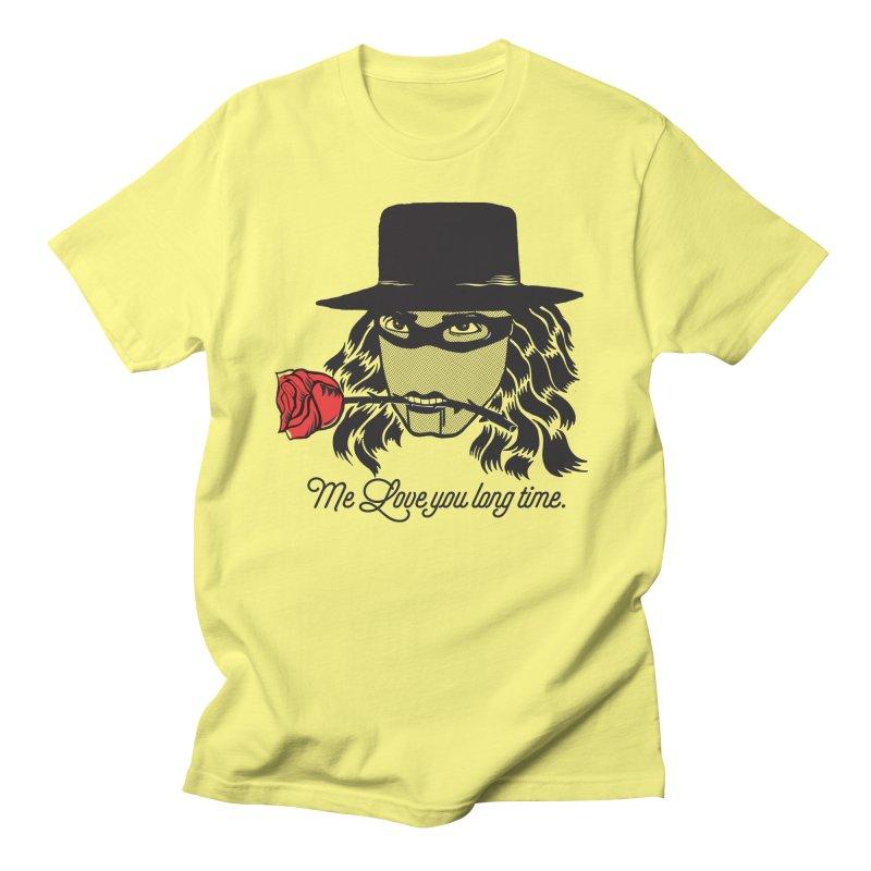Me love you long time. Men's T-Shirt by tomo77's Artist Shop