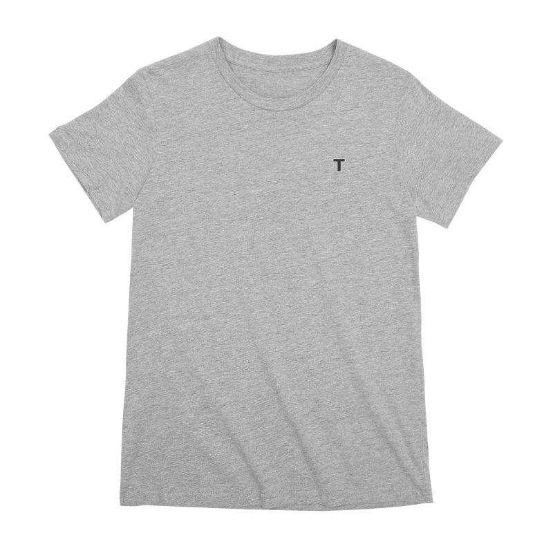 The Tee Women's Premium T-Shirt by Thomas Orrow