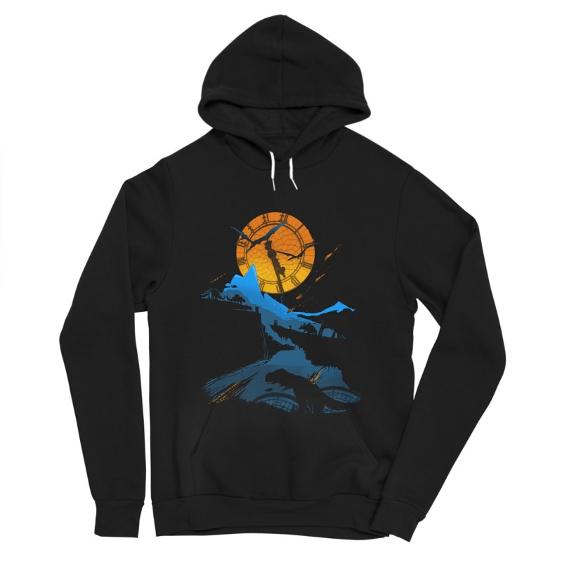 Last Days Women's Sponge Fleece Pullover Hoody by Thomas Orrow