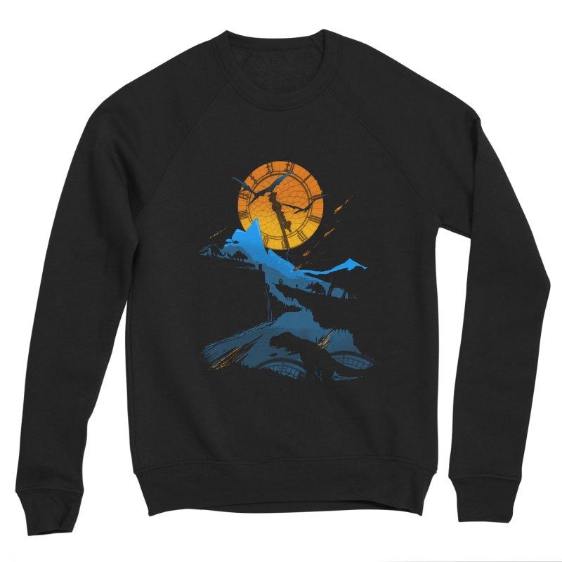 Last Days Men's Sponge Fleece Sweatshirt by Thomas Orrow