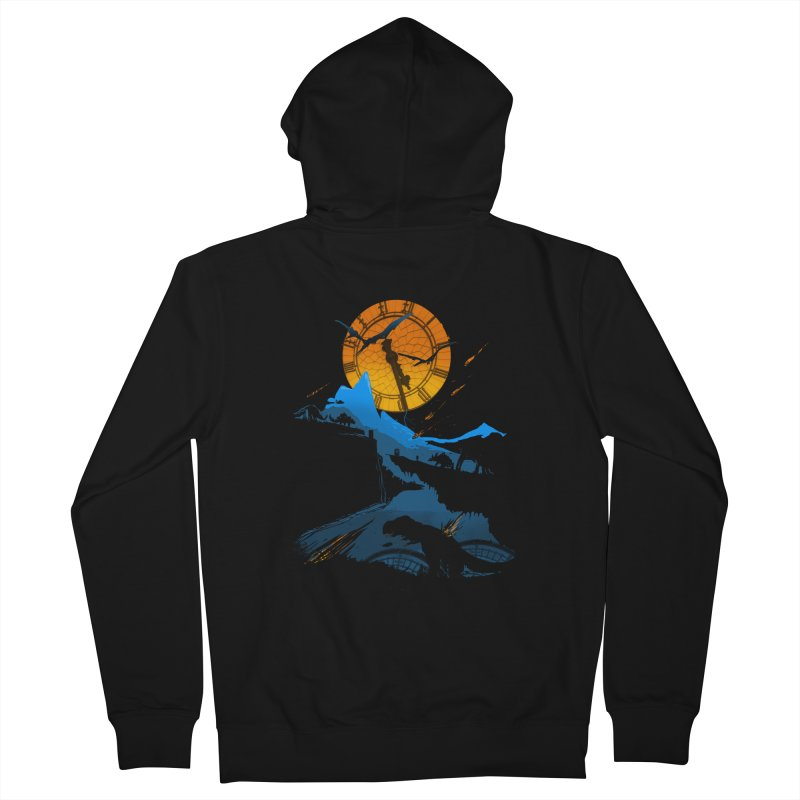 Last Days Men's French Terry Zip-Up Hoody by Thomas Orrow